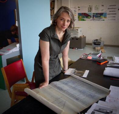 Portrait of Anne Cormier